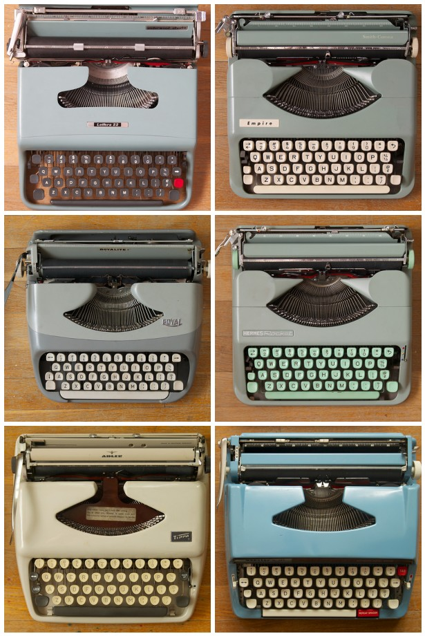 Manual Typewriter Army