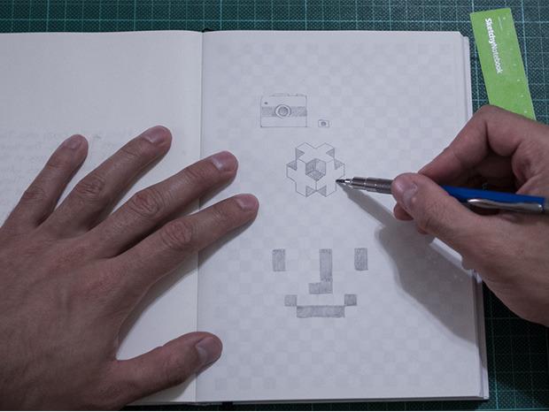 Sketchynotebook drawing sample