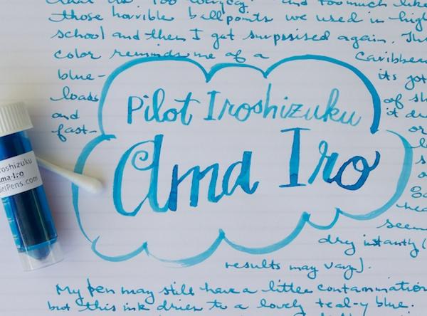 Pilot Iroshizuku Ama Iro