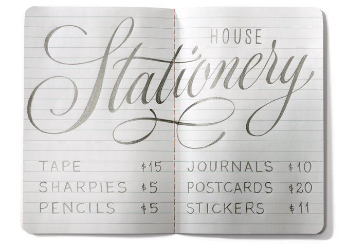House Industries Stationery
