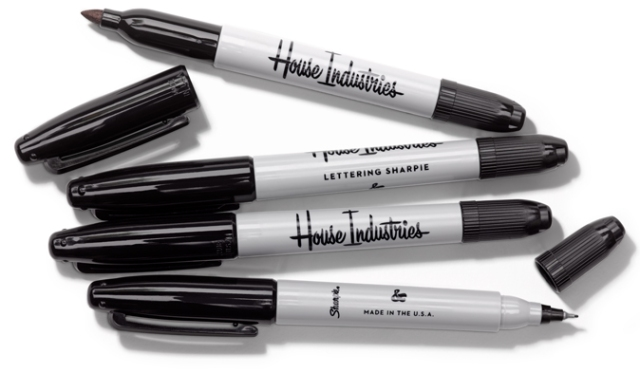 House Industries Sharpies