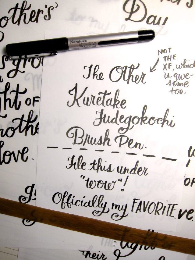 Kuretake Fudegokochi Regular Brush Pen