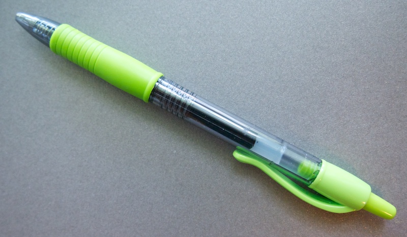Pilot G-2 0.7 in Lime