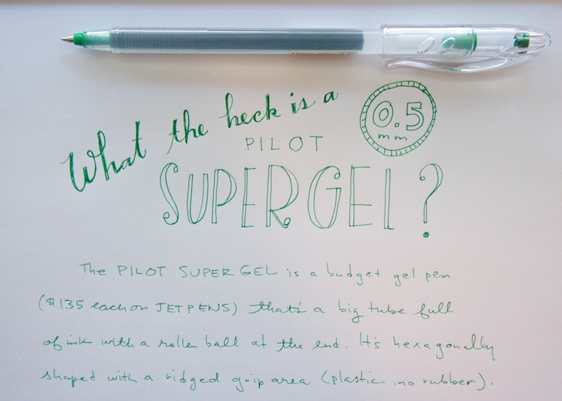 Pilot Super Gel 0.5mm