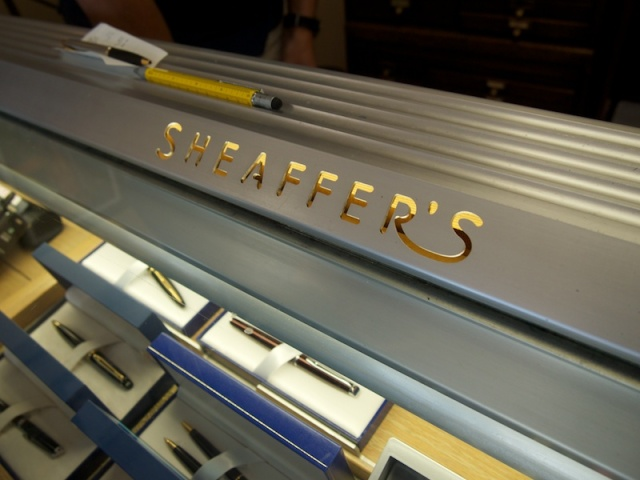 Daly's Pen Shop Sheaffer's Case